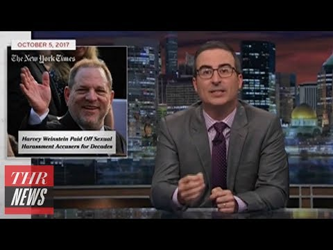John Oliver Addresses Sexual Harassment Allegations Against Harvey Weinstein | THR News