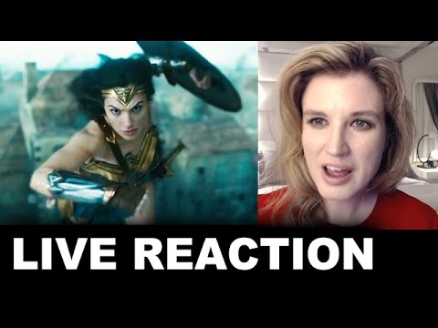 "Wonder Woman TV Spot ""Together"" REACTION"