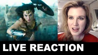 Wonder Woman TV Spot Together REACTION