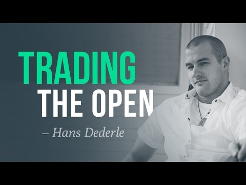 Trading the open, and choosing quality over quantity w/ Hans Dederle