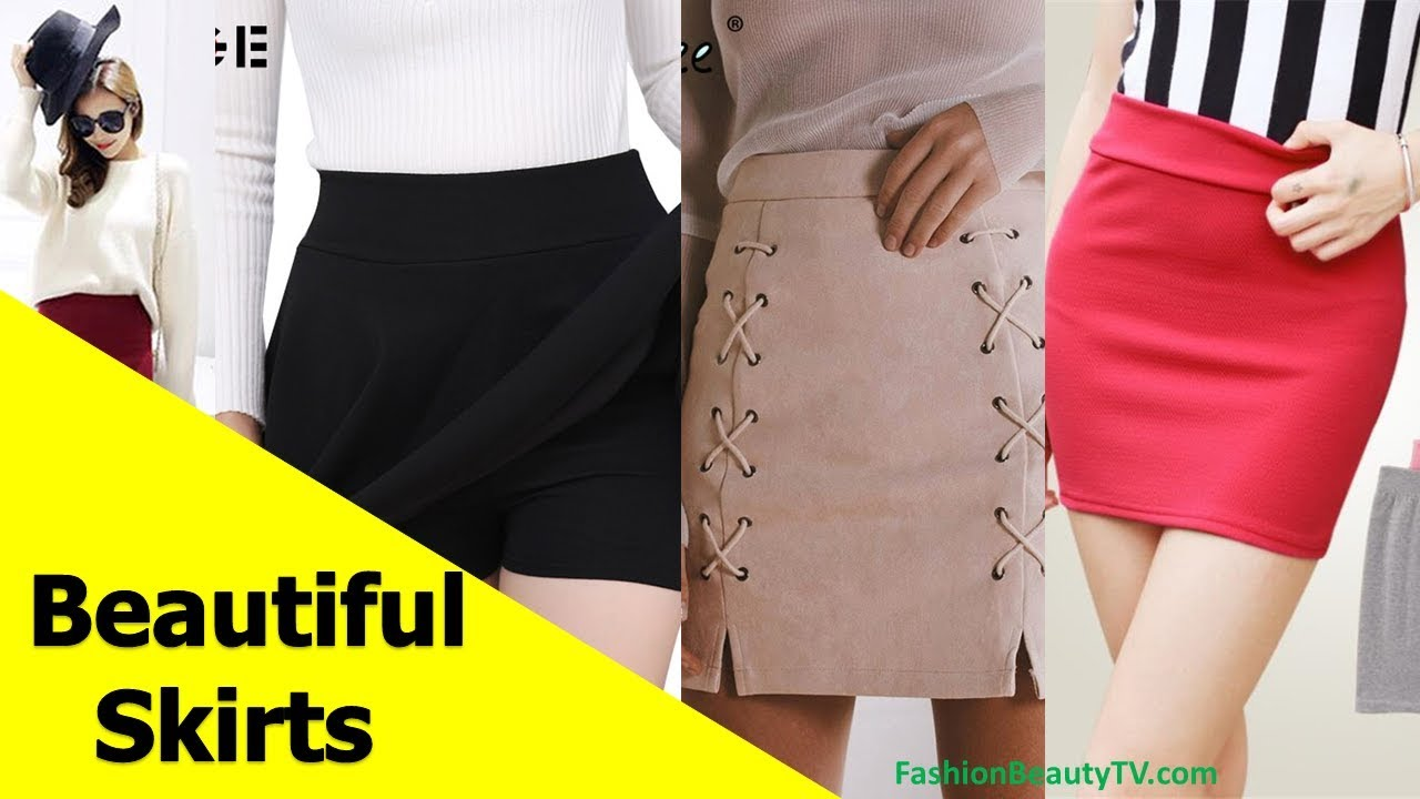 42b8c44eb9 50 beautiful skirts, pencil skirts and best skirts for ladies S8 ...