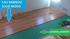 Cali Bamboo Hardwood Flooring - Tips on Cutting and Installation