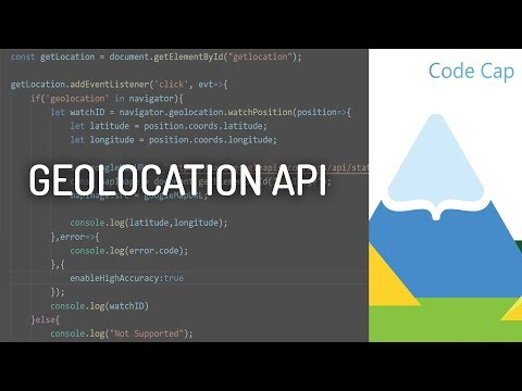 Using HTML5 Geolocation API | Location access in webapps