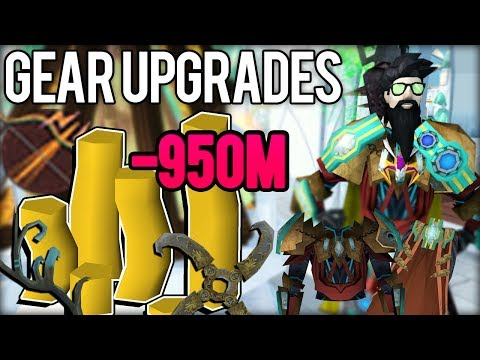 Spent Almost 1B In Upgrades. RIP Cashstack - RS3 Progress #1