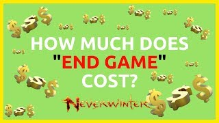 How Much Astral Diamonds Does It Costs To Reach 'End Game' Item Level In Neverwinter