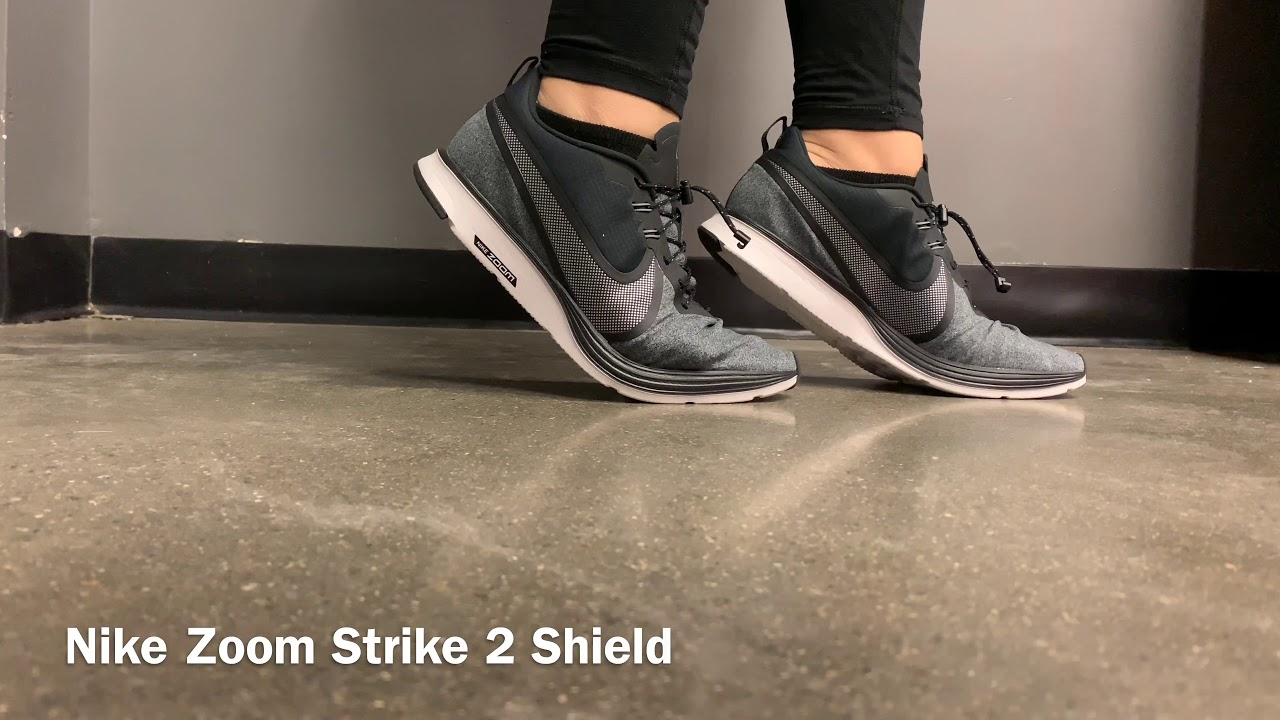 super cute cute cheap picked up Nike Zoom Strike 2 Shield - YouTube