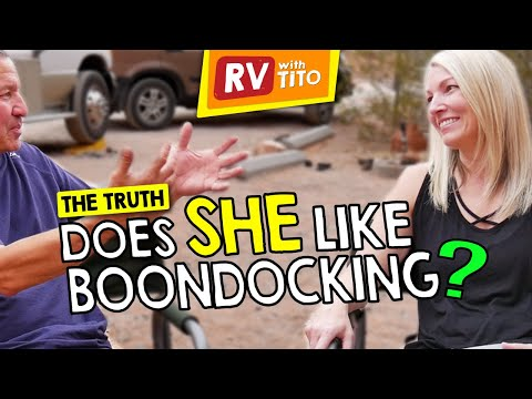 Boondocking In An RV Without Electric Hookups
