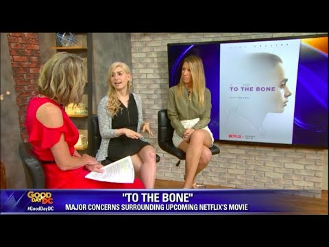 Jennifer Rollin's Interview on Fox 5 About Netflix's 'To The Bone.'