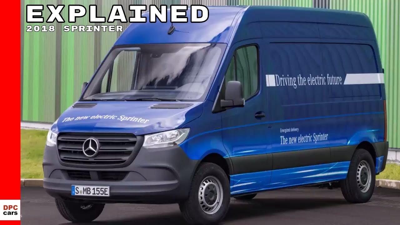 2018 mercedes benz sprinter explained by head of mercedes vans youtube. Black Bedroom Furniture Sets. Home Design Ideas
