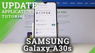 How to Update Apps in SAMSUNG Galaxy A30s – Latest App Version