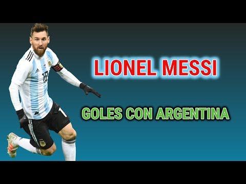 Cuantos Goles lleva Messi con Argentina - Lionel Messi Máximo Goleador SELECCIÓN ARGENTINA