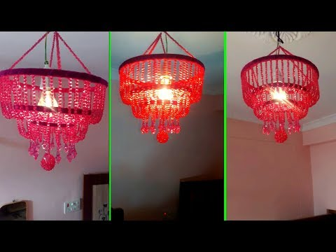 DIY Wall Hanging Jhumar | How To Make Jhumar(झूमर) / Chandelier At Home | Home Decorating Ideas