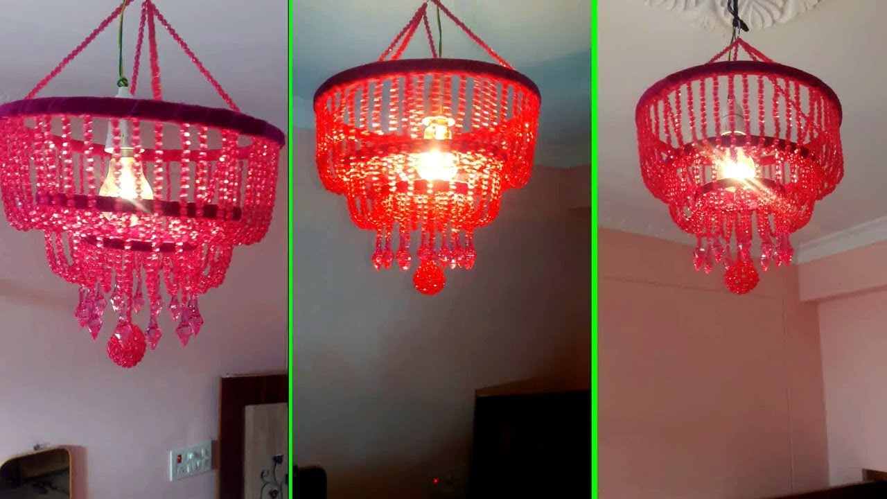 DIY Wall Hanging Jhumar | How To Make Jhumar(झूमर) / Chandelier ...