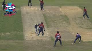 WT20 Asia B Qualifier: Myanmar v Nepal highlights
