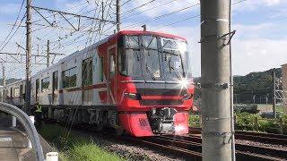 【名鉄】9500系、(たぶん)初、自力走行