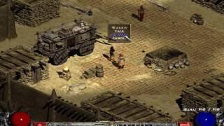 Diablo 2 Single Player: Ancient Tunnels Blizz MF Sorc