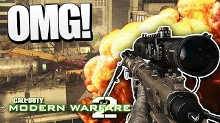 THE GREATEST CALL OF DUTY EVER! (MW2 Trickshotting)