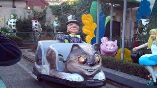 Alice In Wonderland (On & Off Ride) At Pleasure Beach Blackpool