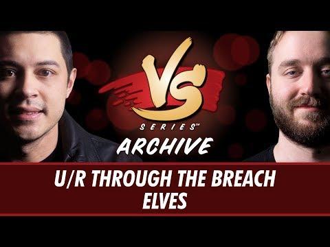 9/7/2017 - Tom VS Ross: U/R Through the Breach vs Elves [Modern]