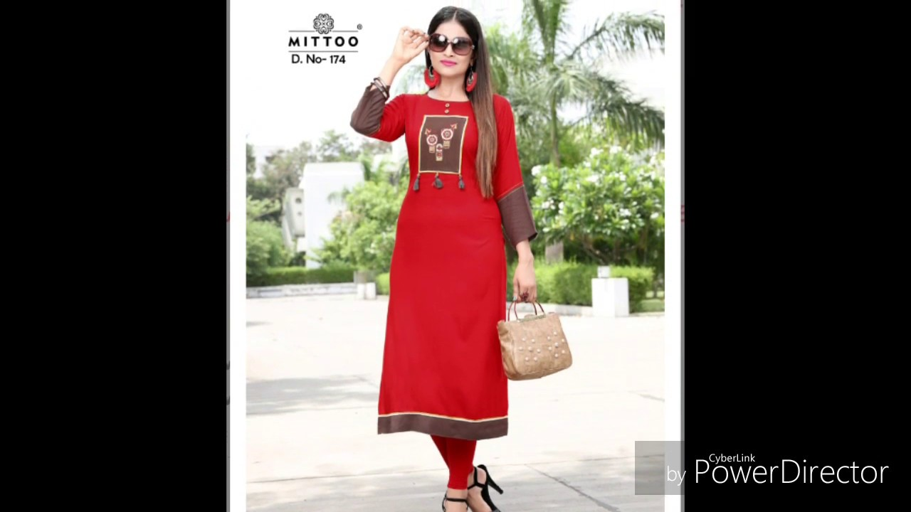 288f2586f4 NEW CATLOG KURTI BEST COLLECTION MITTOO PAYAL VOL 7 KURTI | WHOLESALE  LATEST PRO
