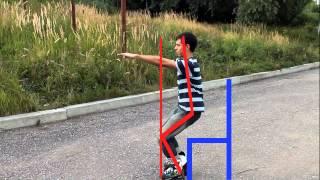Основы катания на роликовых коньках. Урок 1. (Как научиться кататься на роликах вперед)