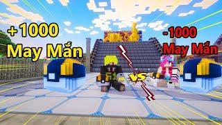 Lucky Poke Block Challenge  Troll Noob Yeti Bằng Quả  -1000 May mắn siêu hài