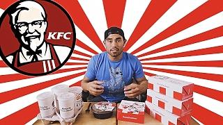 KFC $5 FILL UP MENU CHALLENGE