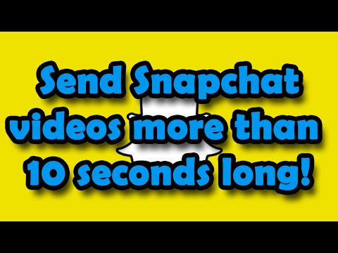 how to get longer snapchat videos