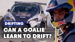 Indian Football Goalkeeper Tries Drifting For The First Time