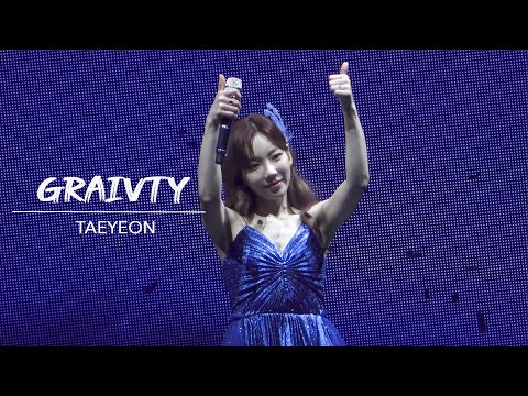 Taeyeon - Gravity - The Unseen Concert In Seoul Day 3 (200119)