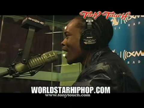 Hurricane Chris freestyle on TonyTouch