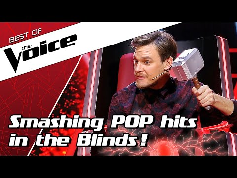 TOP 10 | POPULAR POP SONGS in The Voice