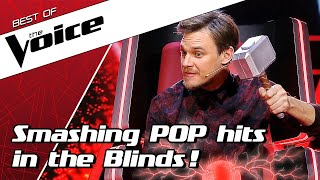 TOP 10 | POPULAR POP SONGS in The Voice