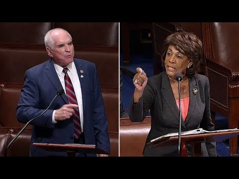 "Maxine Waters Gets Triggered At Congressman Saying ""Make America Great"" On House Floor (REACTION)"