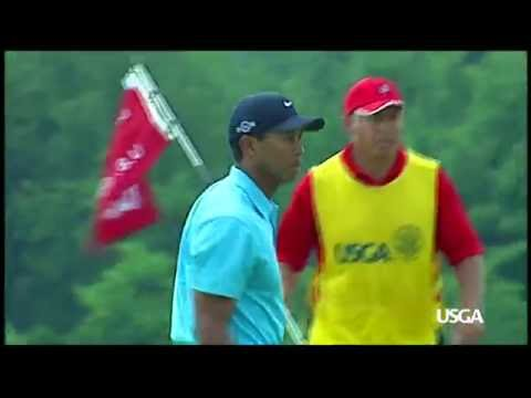 Great U.S. Open Moments at Oakmont: Tiger Tries to Make up Ground