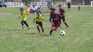 Pinon vs Spikes -Sunday League Youth Soccer Highlights