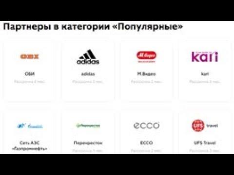 Популярные магазины партнеры карты рассрочки Совесть от Киви Банка для покупок в рассрочку