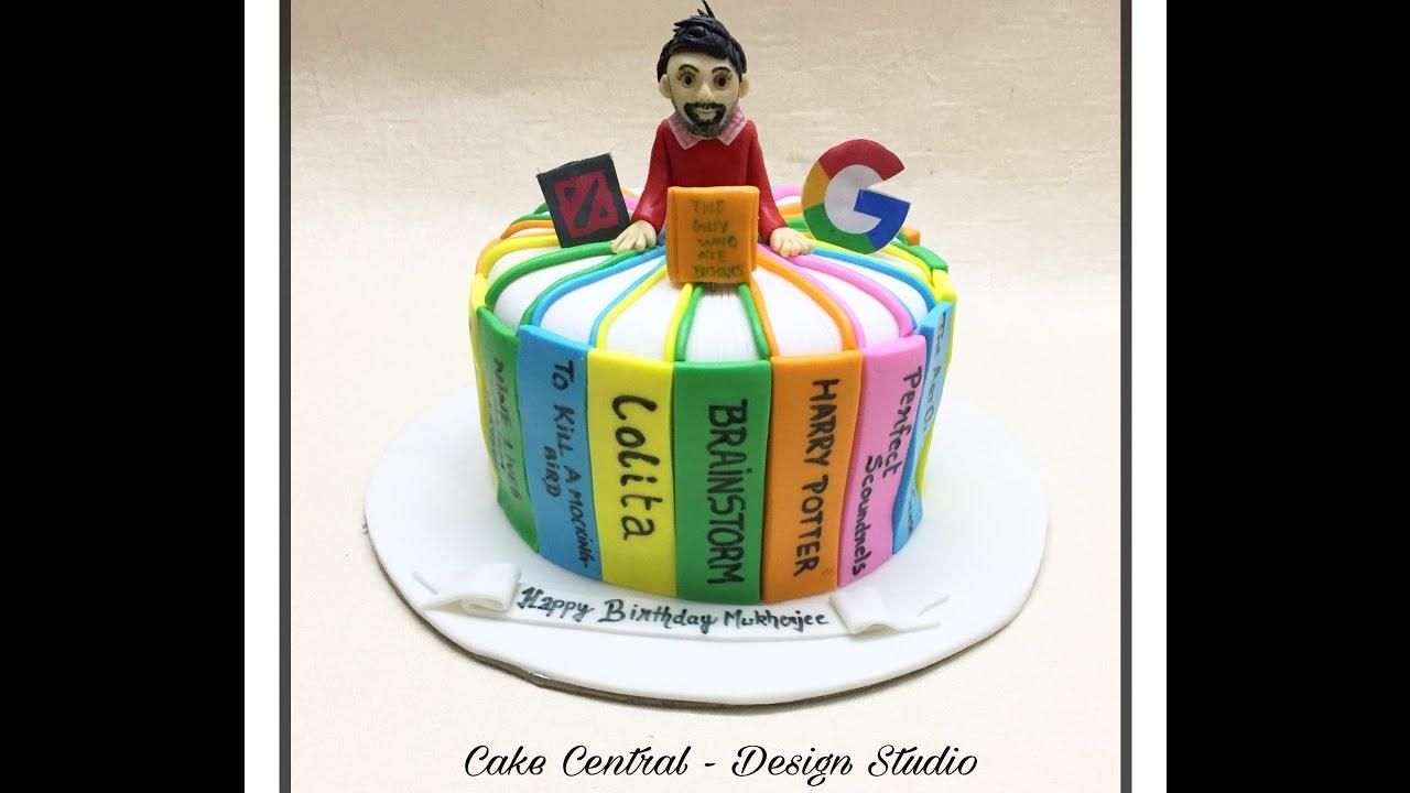 Book Cake In Delhi Ncr Cake For Book Lover In South Delhi Buy
