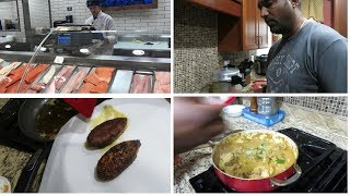 U.S la fish vangalam vanga || Sunday Non veg menu ||Husband cooking