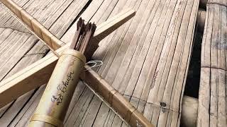 N.Ỏ THỦ CÔNG TÂY BẮC TUYỆT ĐẸP QUA BÀN TAY NGHỆ NHÂN/ Manual crossbow