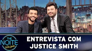 Entrevista com Justice Smith  | The Noite (07/05/19)