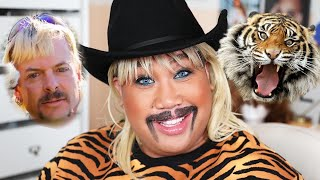I TURNED MYSELF INTO JOE EXOTIC THE TIGER KING | PatrickStarrr