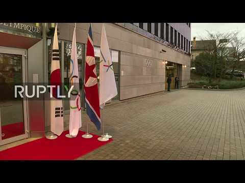 LIVE: IOC hold meeting on DPRK participation in 2018 Olympics: arrivals