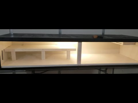 8 Ft Snake Enclosure Build With Sliding Glass