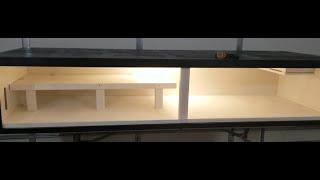 8 Ft Snake Enclosure Build With Sliding Glass