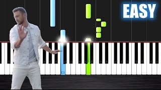 Justin Timberlake Can 39 t Stop The Feeling - EASY Piano Tutorial by PlutaX.mp3
