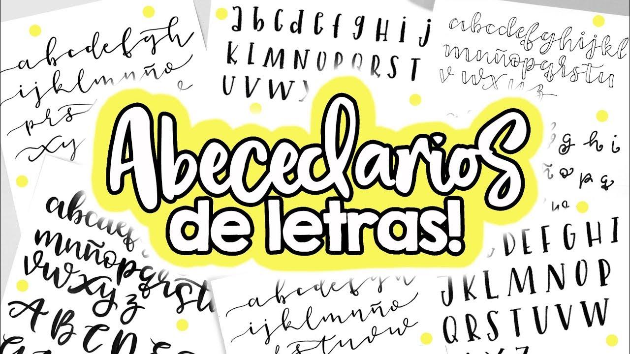 Abecedario De Letras Bonitas Barbs Arenas Art Youtube