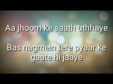 Ae Kash Ke Hum - Sanam ( lyrics )