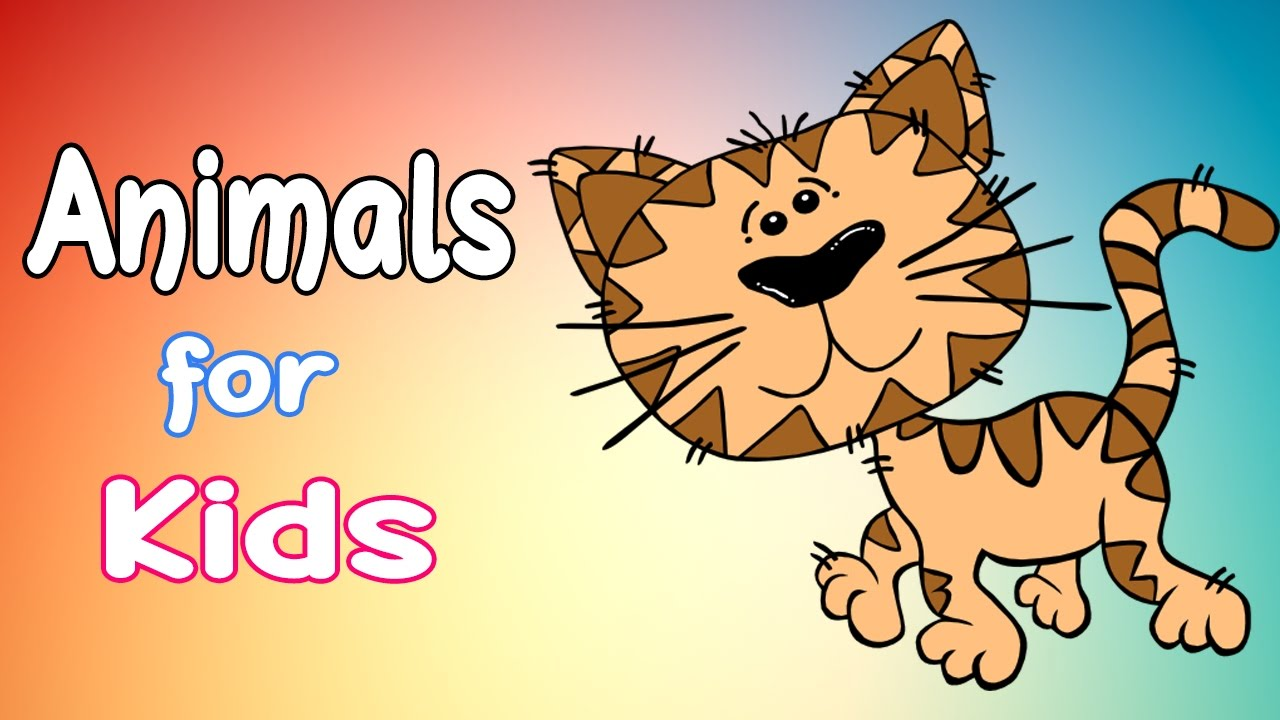 Learn Animal Names & Sounds: Animals in the woods - Part 1
