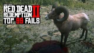 TOP 99 FUNNIEST FAILS IN RED DEAD REDEMPTION 2